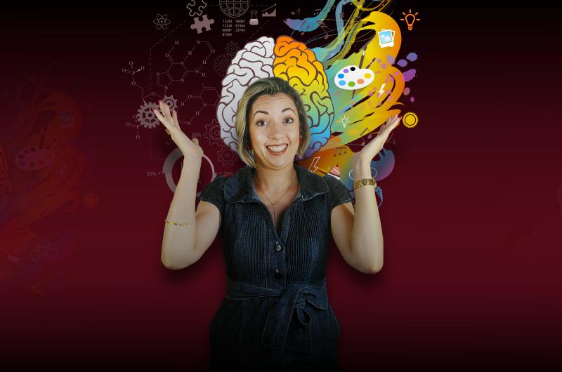 MORGANA COM MENTE 800x530 - [EMOÇÕES] Como treinar a Inteligência Emocional para ter uma Mente Inabalável
