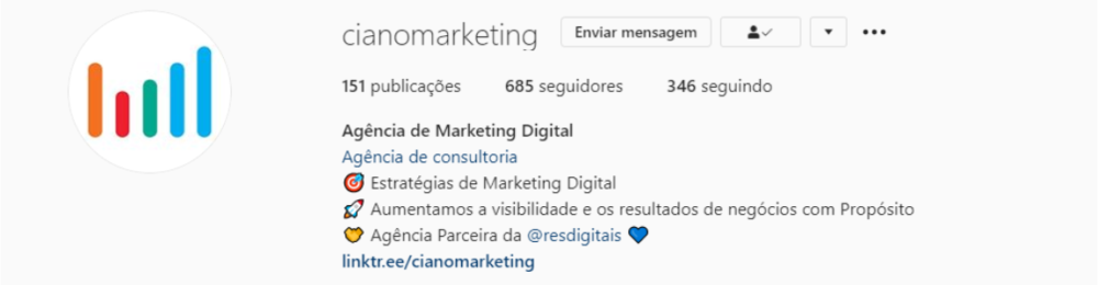 instagram ciano marketing - MENTALIDADE ALÉM DO ARROZ COM FEIJÃO