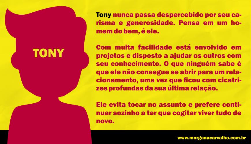 tony nunca passa despercebido pelo seu carisma e generosidade materia blog morgana carvalho mentora de mentalidade - MEDO: USE A AUTOSSUGESTÃO PARA SER MAIOR QUE OS MEDOS